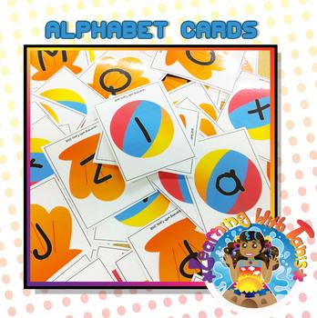 Alphabet Cards_Beach theme