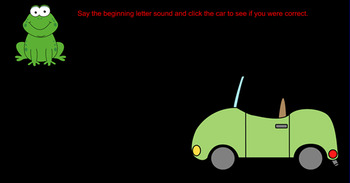Alphabet Cars
