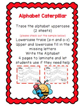 Alphabet Caterpillar