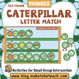 Alphabet - Caterpillar Themed File Folder Activities