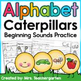 Alphabet Caterpillar - Beginning Sounds Practice