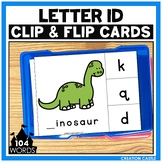 Alphabet Letter Identification Clip Cards Center