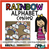 Alphabet Center: Rainbows