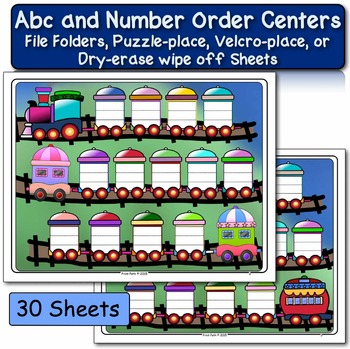 Alphabet and Numbers - Fluency Centers