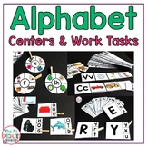 Alphabet Centers to Reinforce & Generalize Letter Skills (Special Ed Resource)