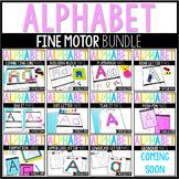Alphabet Centers: Alphabet Fine Motor Mats