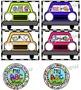 Alphabet Centers ~ Cars N Wheels