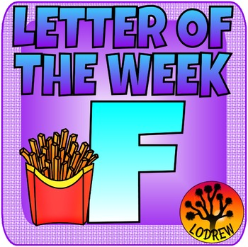 Alphabet Centers Letter Of The Week, Letter F, Literacy, Math