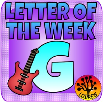 Alphabet Centers Letter Of The Week, Letter G, Literacy, Math