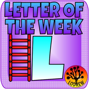 Alphabet Centers Letter Of The Week, Letter L, Literacy, Math