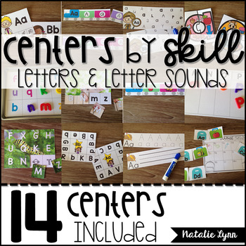 Alphabet Centers: Letters and Letter Sounds