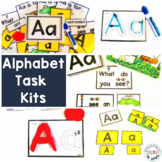 Alphabet Centers Task Kits for Preschool, Pre-k, and Speci
