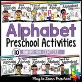 Alphabet Centers