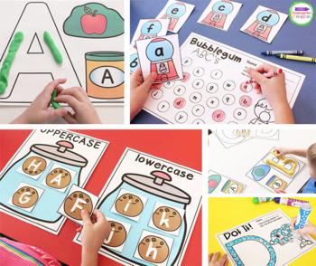 Alphabet Centers and Activities for Pre-K and Kindergarten