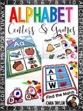 Alphabet Centers and Games
