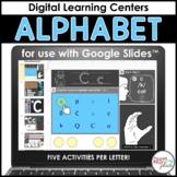 Alphabet Centers for Google Slides: Letters and Sounds - D