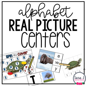 Alphabet Centers with Real Pictures