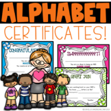 Alphabet Certificates
