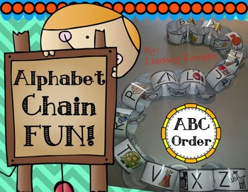 Alphabet Chain Building Fun!