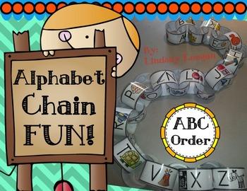 Alphabet Chain Building Fun!