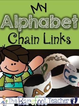 Alphabet Chain Links