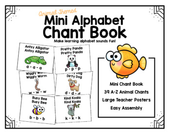 Mini Alphabet Chant Book