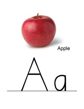 Alphabet Chant Printables (for bulletin boards or alphabet banner)