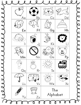 Alphabet Chant and Chart