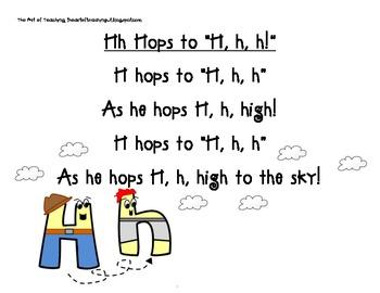 Alphabet Characters: Letters H-Z