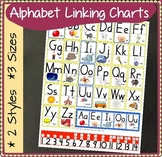 Alphabet Linking Charts: Handwriting-Without-Tears STYLE FONT But on 3-lines!
