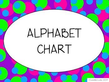 Alphabet Chart ABC Cards