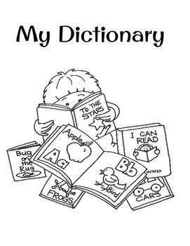 Alphabet Chart & Personal Dictionary
