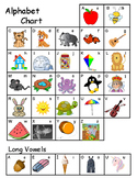 Alphabet Chart & Personal Dictionary