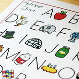 Alphabet Chart Upper and Lower Cases
