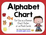 Alphabet Chart for Classroom