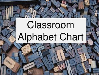 Alphabet Chart of Positivity (v. 2)