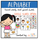 Alphabet Flashcards to print (color and black and white) a