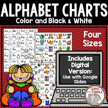 Alphabet ABC Linking Charts