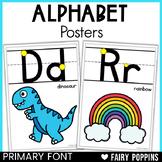 Alphabet Charts {Posters} D'Nealian & Zaner-Bloser Fonts