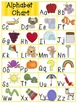 Alphabet Charts-Multiple Colors