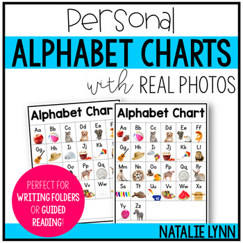 Alphabet Charts with Real Photographs