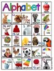 Alphabet Charts with Real Pictures (Includes words for you