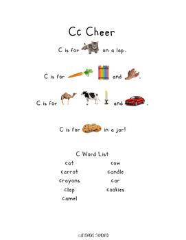 Alphabet Cheers