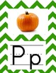Alphabet Chevron Green