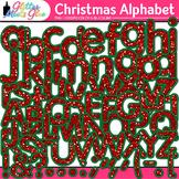 Christmas Alphabet Clip Art {Great Holiday Classroom Decor