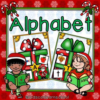 Alphabet Christmas Presents Edition