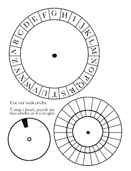 photo about Printable Decoder Wheel known as Cipher Wheel Worksheets Training Components Academics Pay out