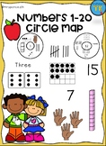 Numbers 1-20 Circle Map
