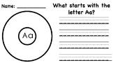 Alphabet Circle Maps (A-Z)