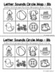 Alphabet Circle Maps | Letter Sounds Circle Maps | Beginning Sounds Circle Maps